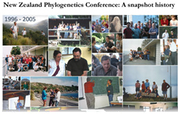 NZ Phylogenetics Conference: A snapshot history