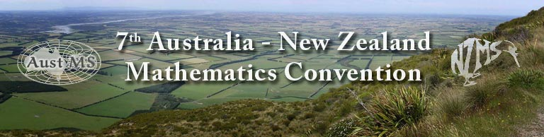 7th Australia New Zealand Mathematics Convention